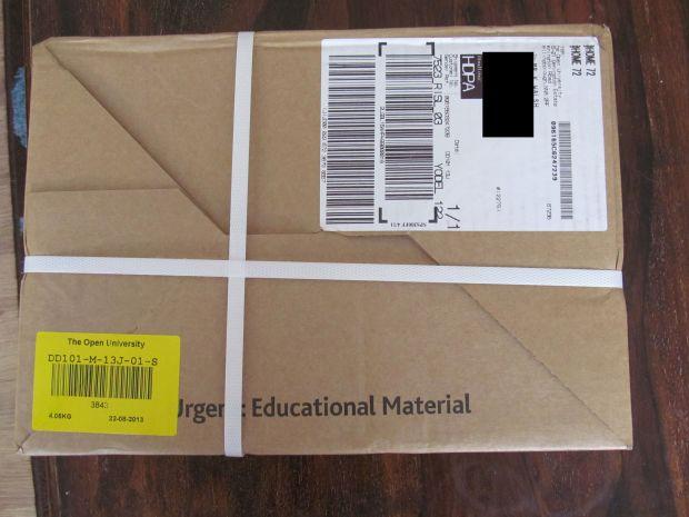 Open University Course Materials Box
