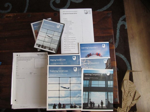 Open University DD101 Course Materials